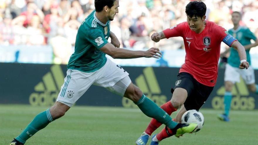 Alemania pierde con Corea (2-0) y se despide sin honores