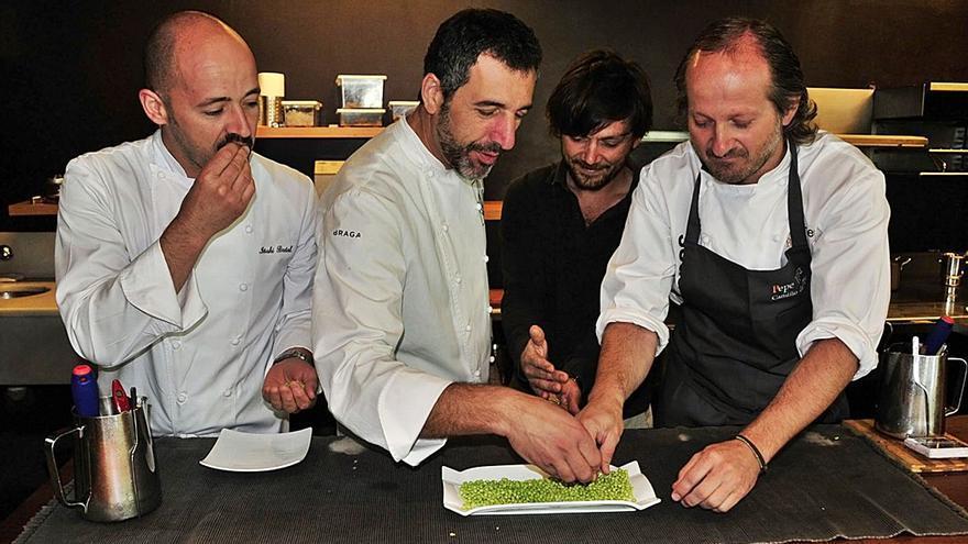 El caviar verde con sello pontevedrés