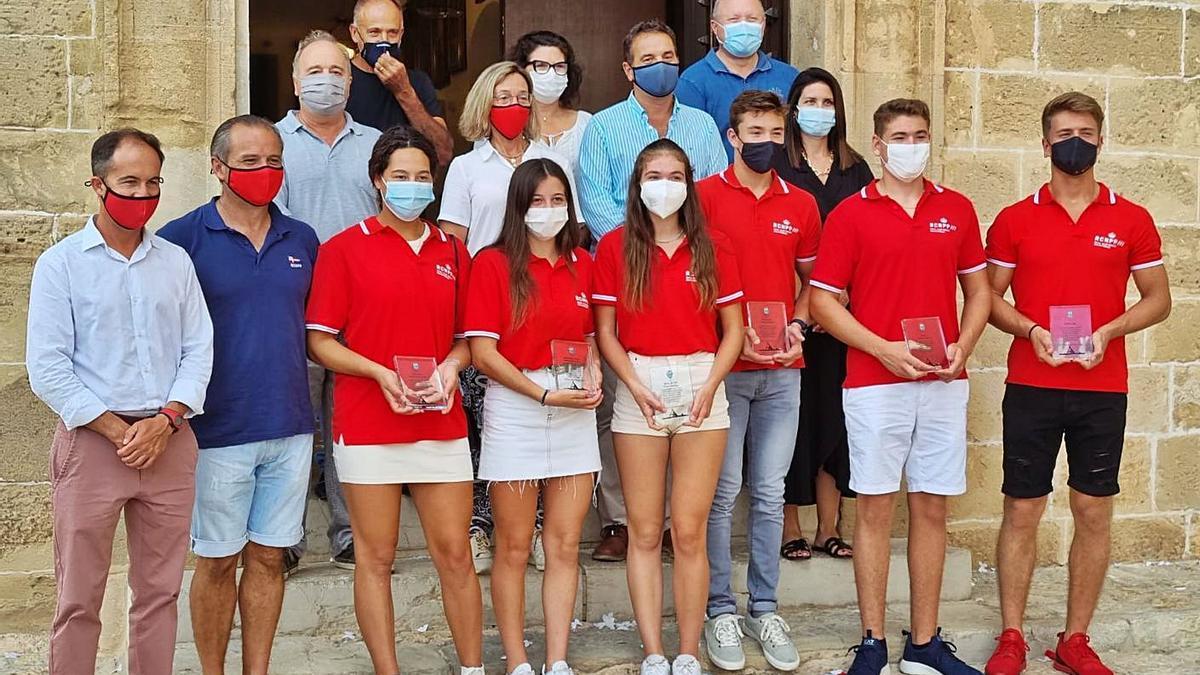Pollença rinde homenaje a sus piragüistas | AJUNTAMENT DE POLLENÇA