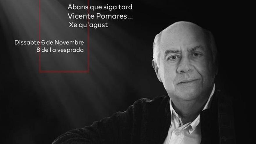 Concierto a favor de AFAE del músico Vicente Pomares en Elche