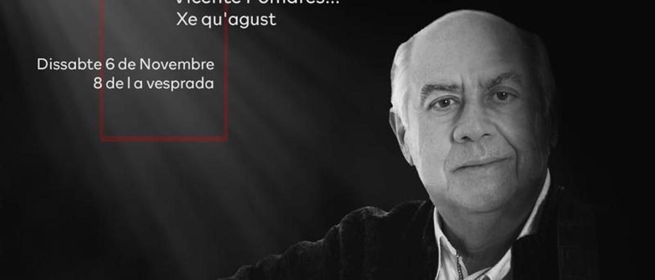 Cartel anunciador del acto solidario a favor de AFAE en Elche