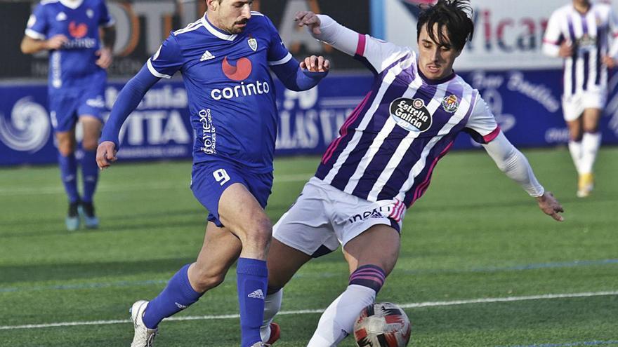 El Cova paga sus errores ante el filial del Valladolid