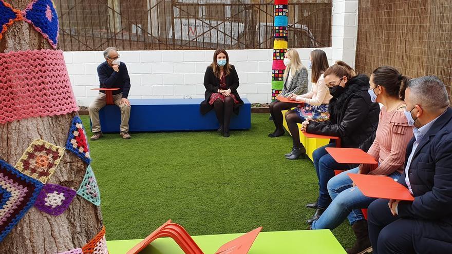 El colegio Virgen de las Maravillas de Cehegín gana espacios educativos al aire libre