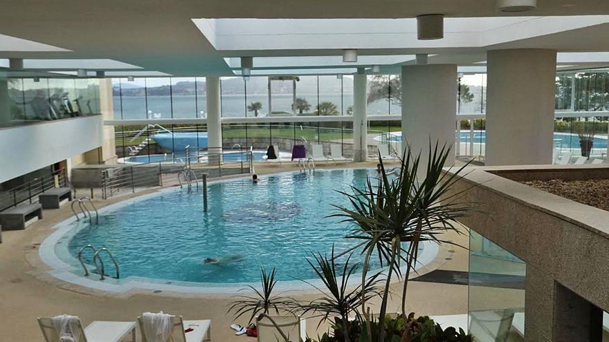 Las estancias del Imserso en los balnearios se reactivan a cuentagotas en O Salnés