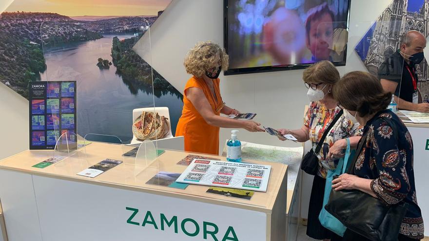 Zamora capta turistas en Cataluña