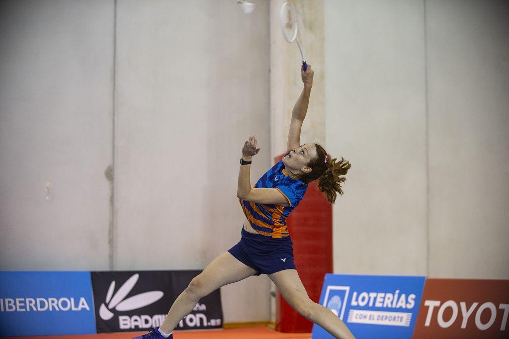 Campeonato de España de Bádminton en el Palacio de los Deportes de Murcia