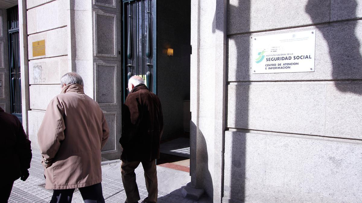 Sede del INSS en Zamora