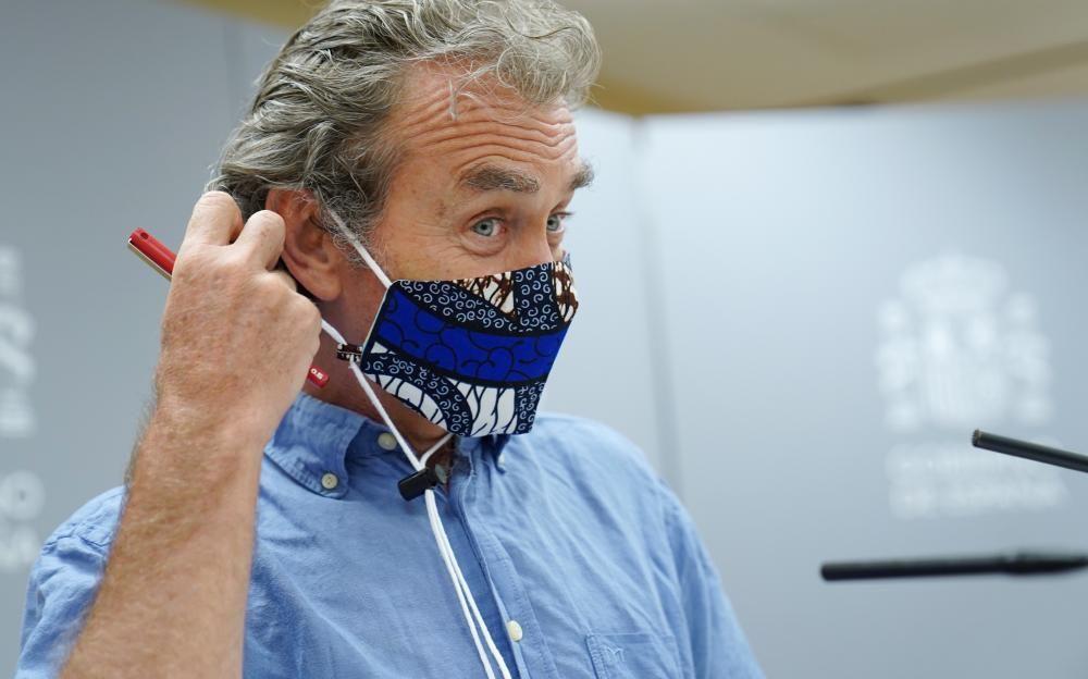 Fernando Simón actualiza los datos del coronavirus