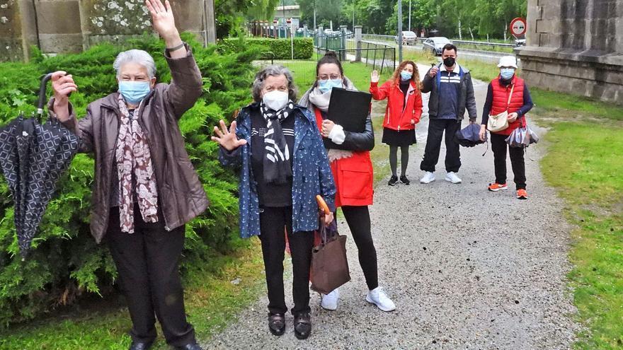 Los paseos en compañía que la pandemia paralizó 9 meses