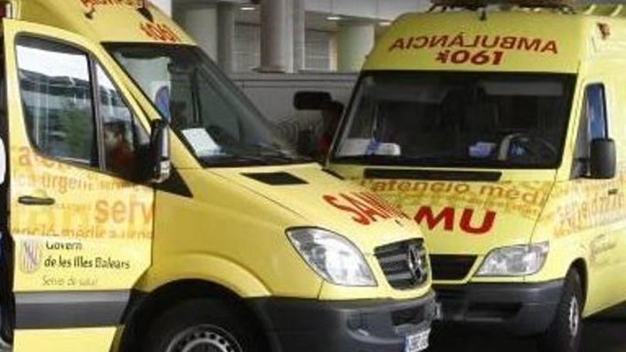 Mutter und Sohn bei Motorradunfall schwer verletzt