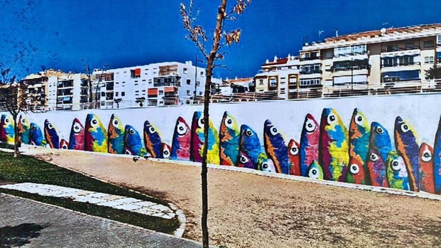 Un mural de inspiración marinera embellecerá el bulevar de San Pedro