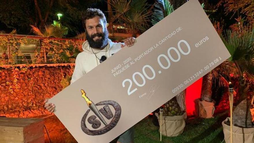"Jorge Pérez, ganador de ""Supervivientes"" 2020"