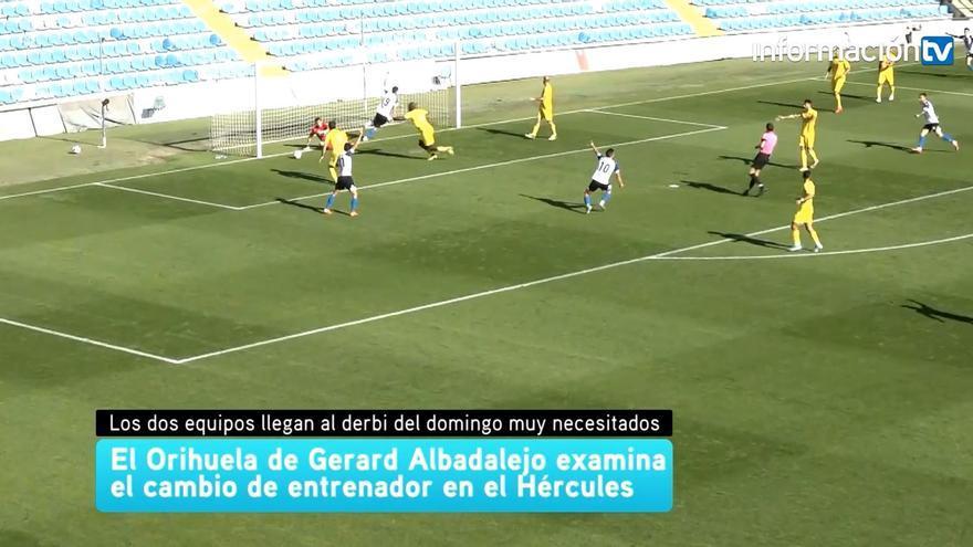 Orihuela y Hércules llegan al derbi provincial necesitados de puntos