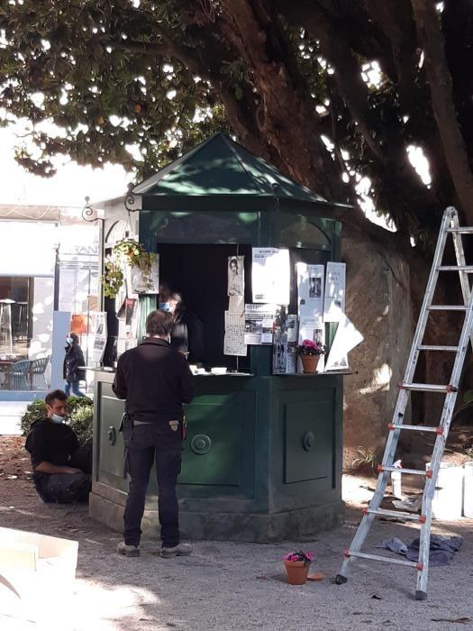 """Las primeras grabaciones de """"Un asunto privado"""" en Vigo."""