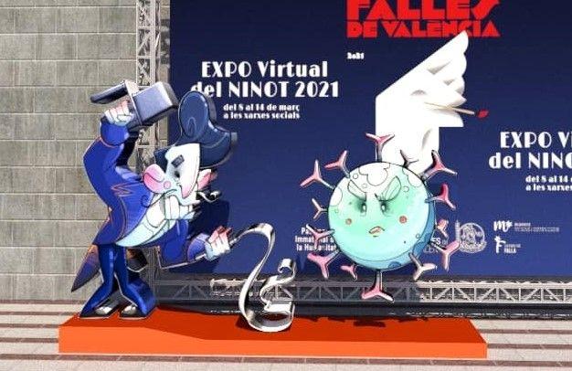 Exposición del Ninot Virtual de las Fallas 2021