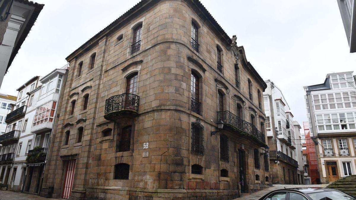 La casa Cornide.
