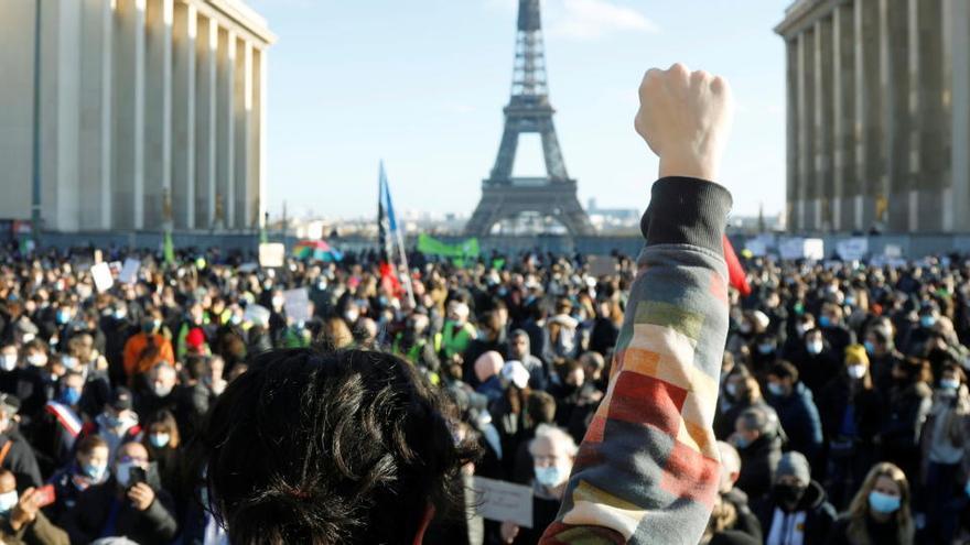 Protestas en toda Francia contra la nueva Ley de Seguridad Global