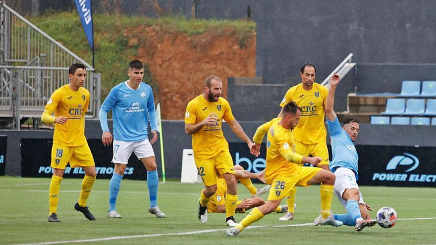 El Andorra calibra la ambición  de la UD Ibiza por subir a Segunda