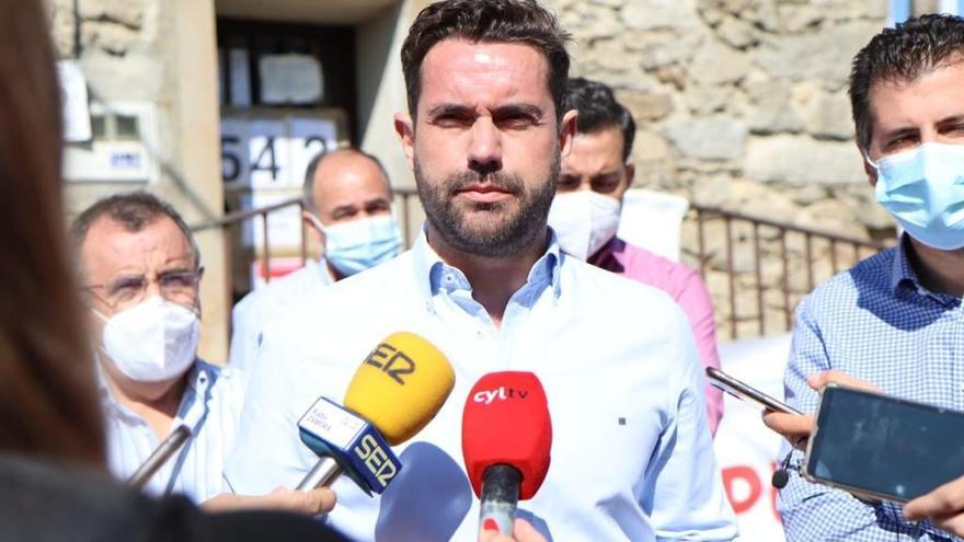 Antidio Fagúndez se vuelve a presentar para liderar el PSOE de Zamora