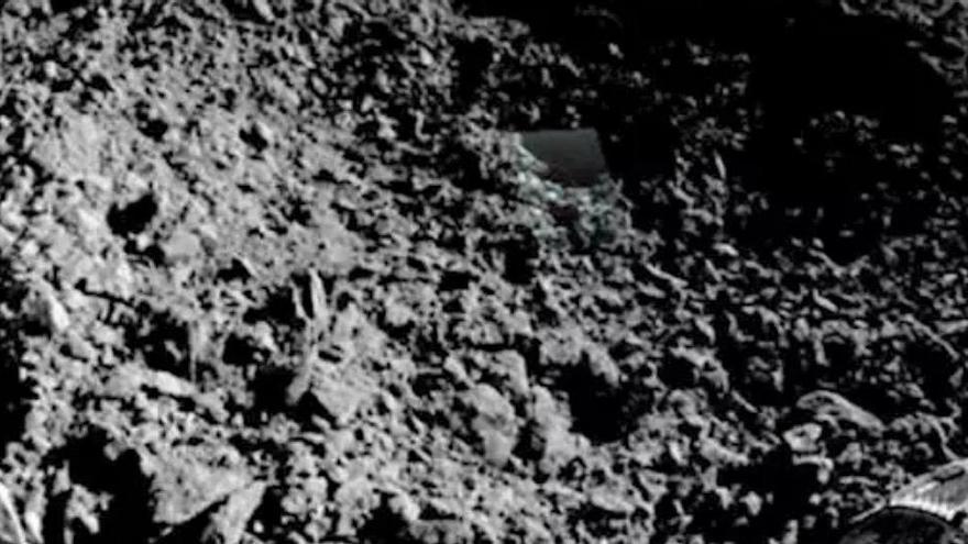 Así es la sustancia gelatinosa hallada por China en la Luna