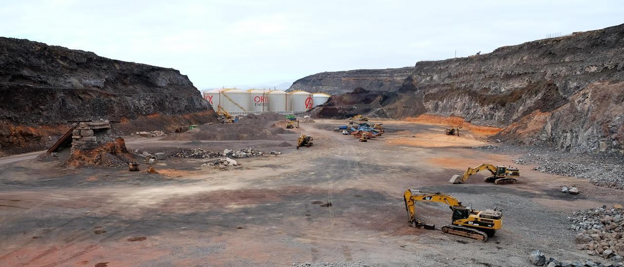 Explanadas incluidas en la modificación del plan especial del Puerto de Las Palmas.