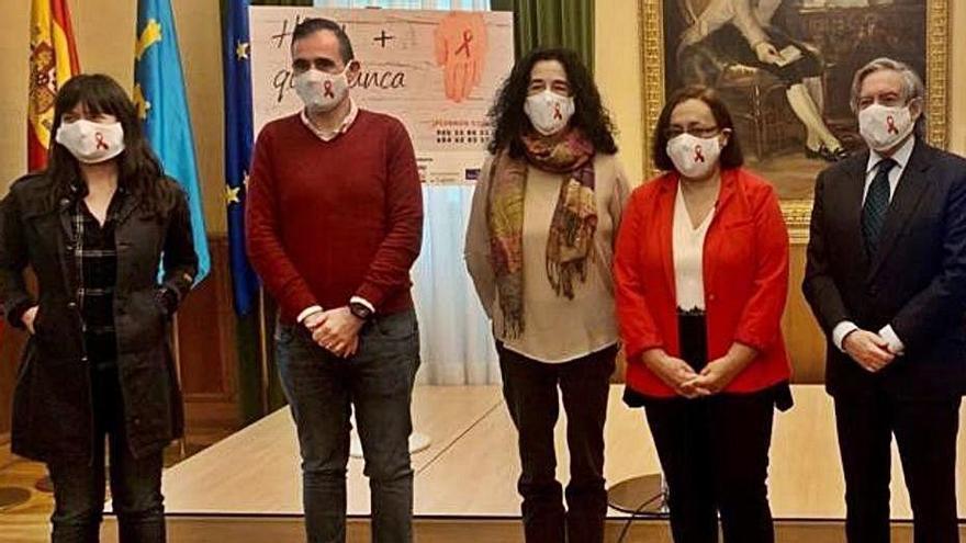 La irrupción del coronavirus frenó en Asturias la nueva estrategia antisida