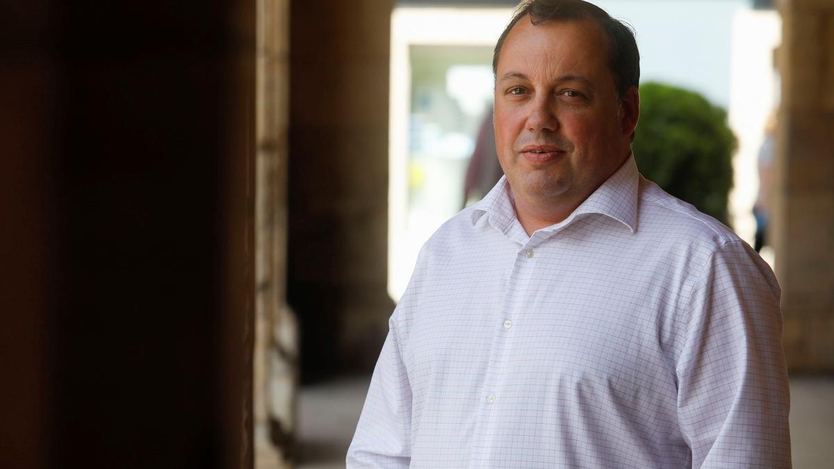 Pelayo García, concejal de Medio Ambiente de Avilés.