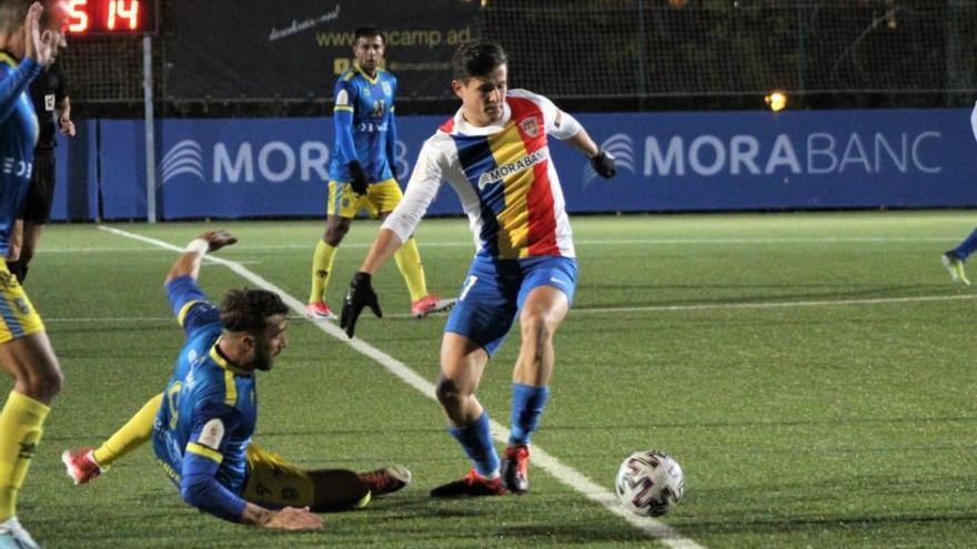 El Andorra acaba de un plumazo con el sueño del Andratx en la Copa del Rey