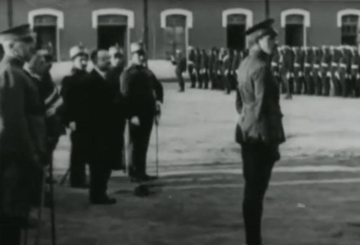 1921 Documental de la visita de Alfonso XIII.