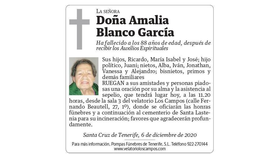 Amalia Blanco García
