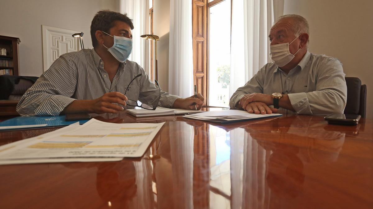 Carlos Mazón y Sebastián Cañadas