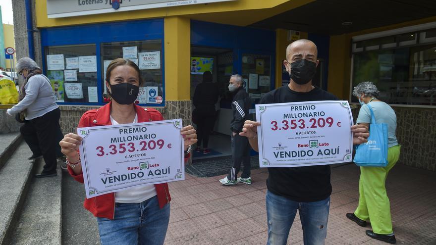 Bonoloto millonaria en La Feria: Una administración con estrella