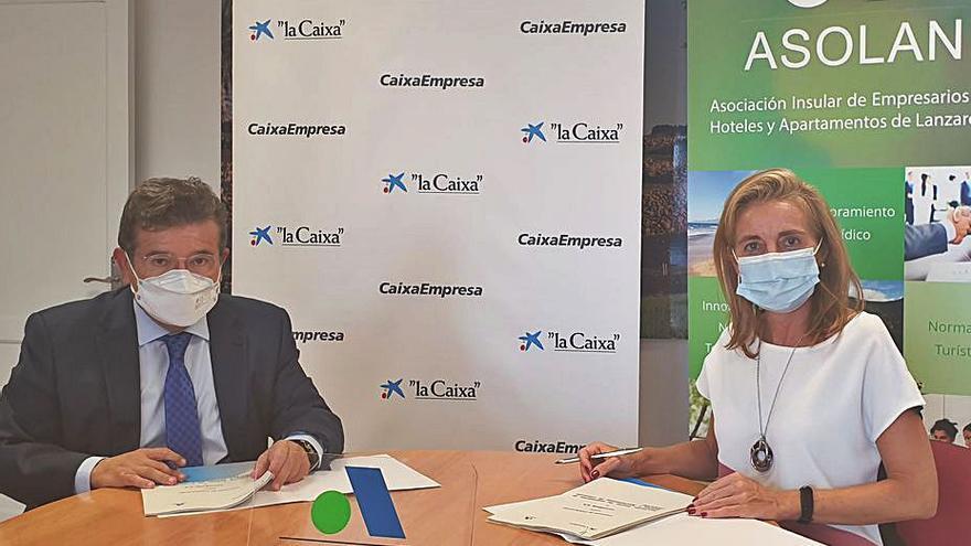 CaixaBank renueva su colaboración con Asolan para ofrecer soluciones financieras