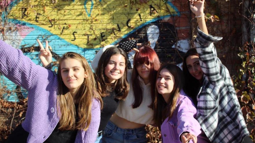 Joves vilafantenques, feministes, i amb ganes de combatre actituds masclistes