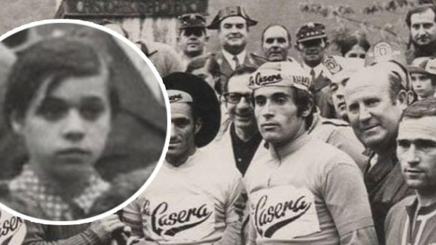 La búsqueda de la niña del podio: un exciclista profesional trata de dar con una canguesa de la que solo tiene una foto de hace casi 50 años