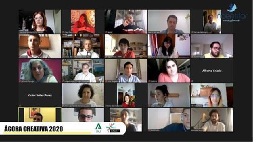 Más de medio centenar de creativos participan en el Ágora de Eutopía 20 de forma telemática