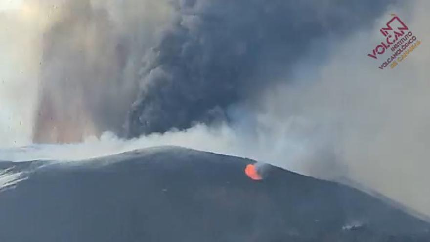 La actividad del volcán de La Palma se vuelve más explosiva