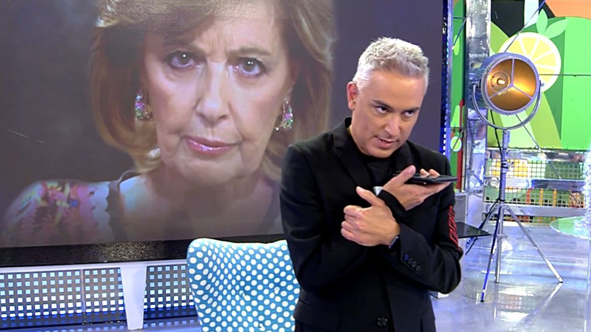 Kiko Hernández en 'Sálvame'.