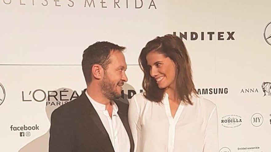 Lourdes Mohedano se estrena en la pasarela de la Mercedes-Benz Fashion Week Madrid