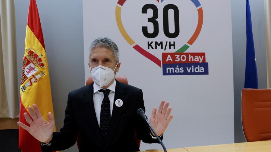 """Marlaska defiende el límite de 30 km/h: """"Las calles serán un foro público"""""""