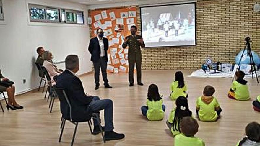 El CEIP Manuel Sueiro, ganador de los premios escolares del Ejército