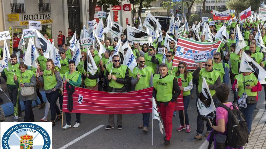 """Los guardias civiles de Zamora exigen que la productividad deje de ir para el """"generalato"""""""