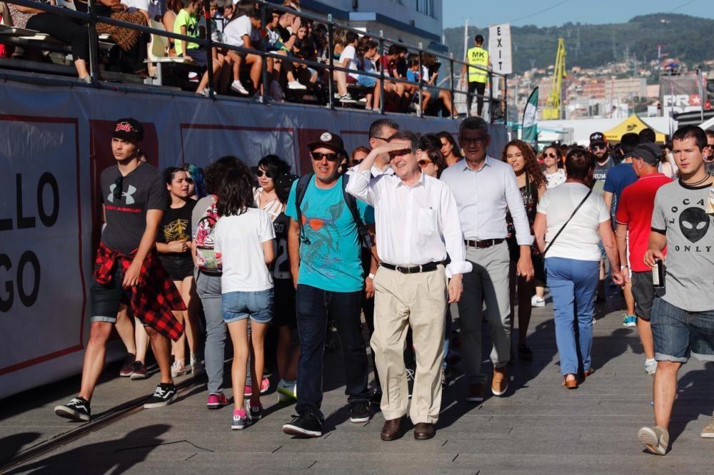 Tres días de acrobacias y piruetas imposibles, arte, deporte y cultura urbana campando por la fachada atlántica de Vigo. Un espectáculo al aire libre para el mejor festival del noroeste