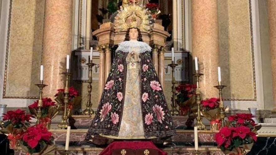 Monóvar celebra el centenario de la coronación de su patrona
