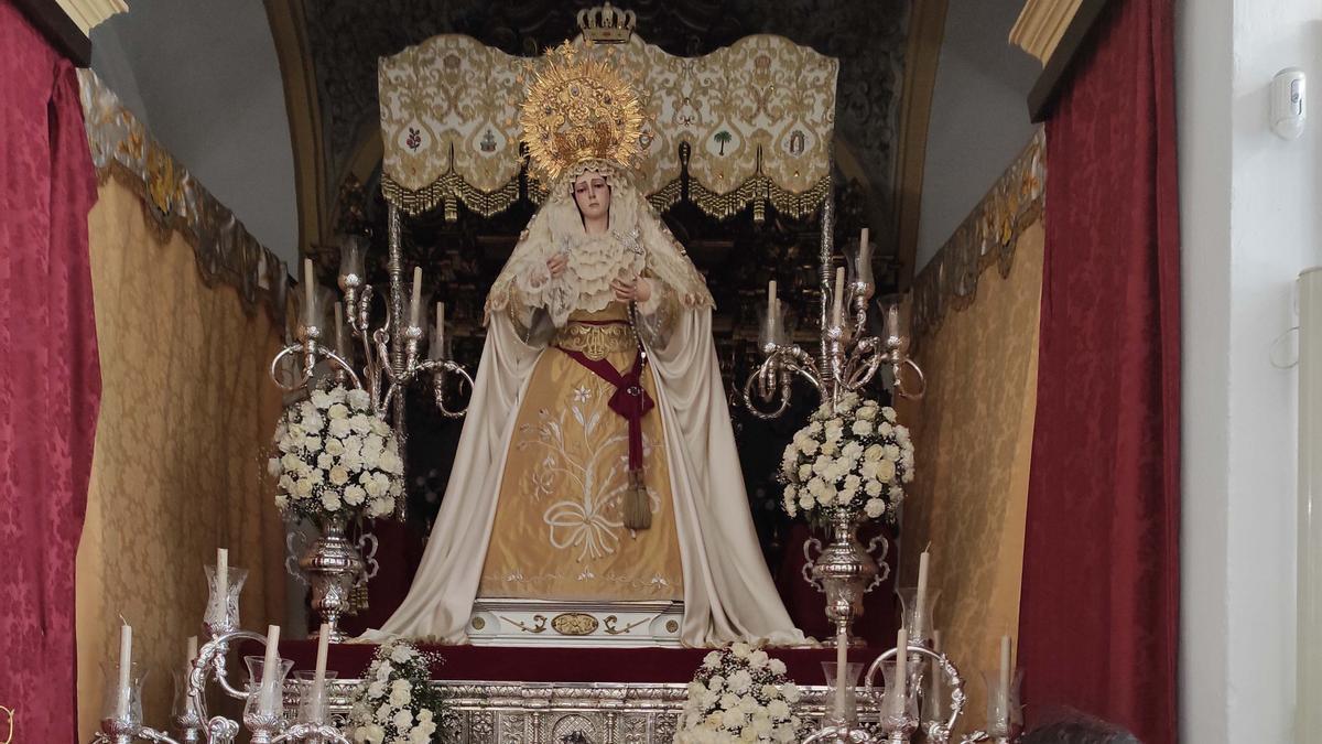 Aguilar de la Frontera, Jes�s Ca�do y la Virgen de la Paz 1.jpg
