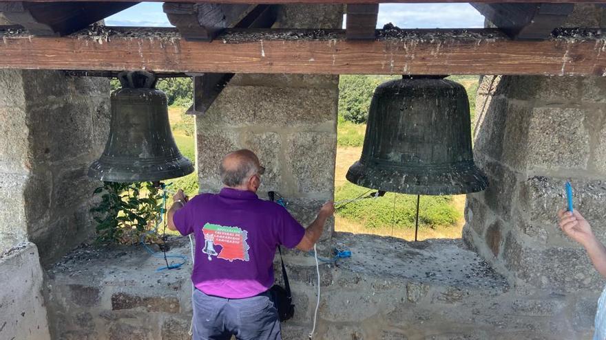 Los pueblos zamoranos del Camino tocan sus campanas por Santiago Apóstol