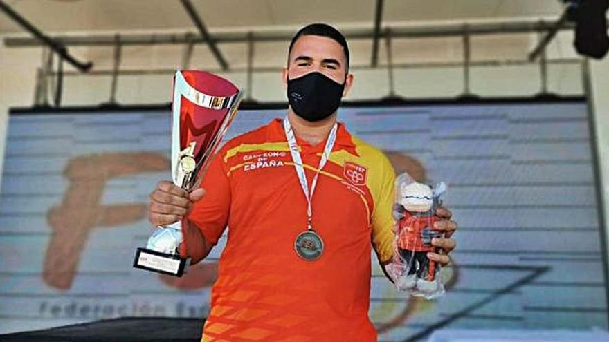 Paco Rodríguez, campeón de España Juvenil
