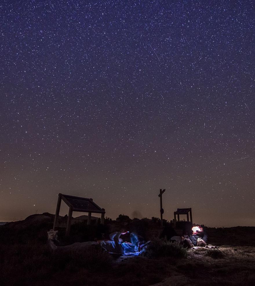 Galicia, balcón privilegiado para ver la lluvia de estrellas de las Dracónidas