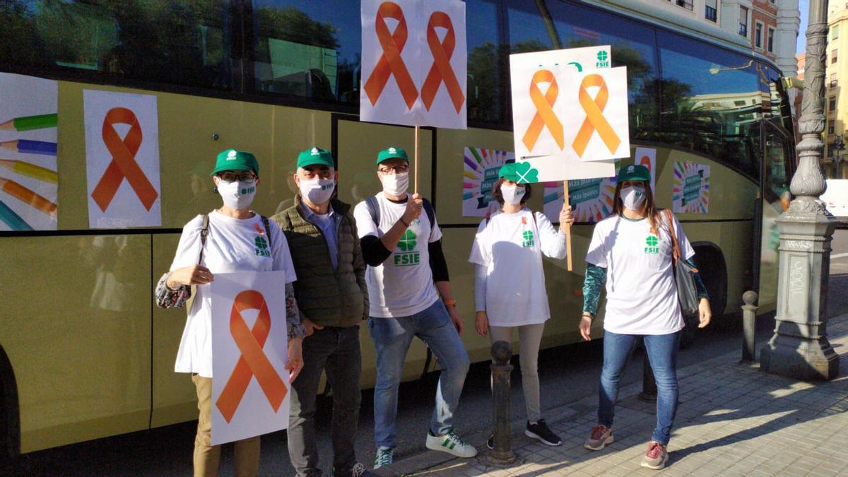 Ruta naranja de la concertada para protestar contra la ley Celaá