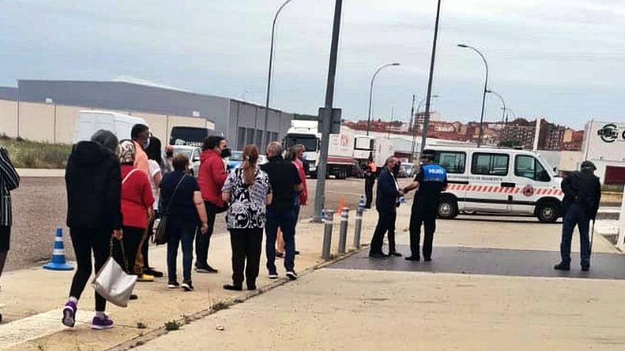 """Vacunación en Zamora   """"Fluidez"""" en la jornada de vacunación masiva en Benavente"""